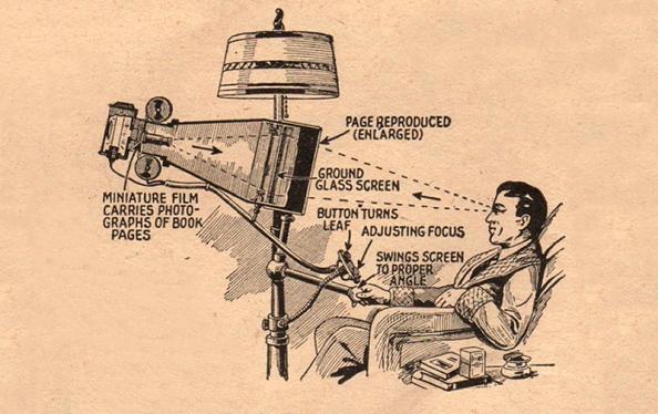 Prototipo de libro-e, 1935