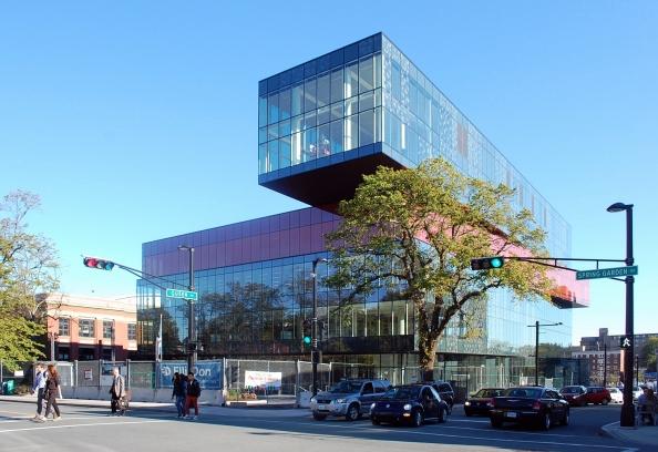 Biblioteca de Halifax.  Origen: Wikimedia. Licencia CC BY-SA 4.0. Autor: Citobun